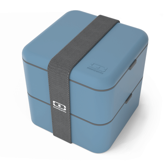 Monbento: Square Lunch Box (Denim)