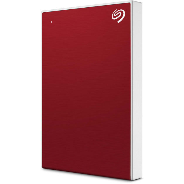 2TB Seagate Backup Plus Slim - Red