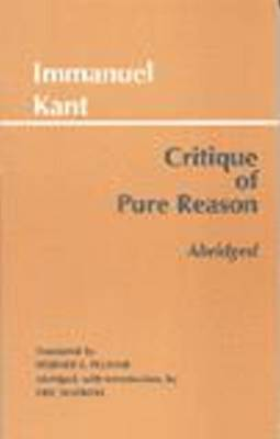 Critique of Pure Reason, Abridged by Immanuel Kant image