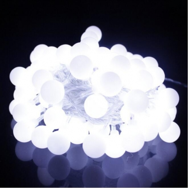Solar String Lights - Festoon Ball 100 LED Lights