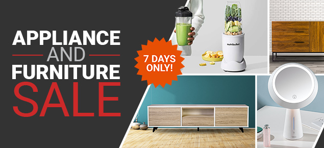 Appliance and Furniture Sale!