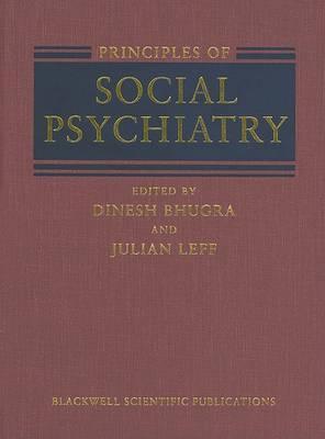 Principles of Social Psychiatry image