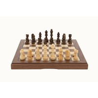 Dal Rossi Walnut Chess Set (30cm) image