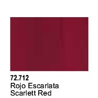 Vallejo Game Air Scarlett Red Acrylic Paint (17ml)