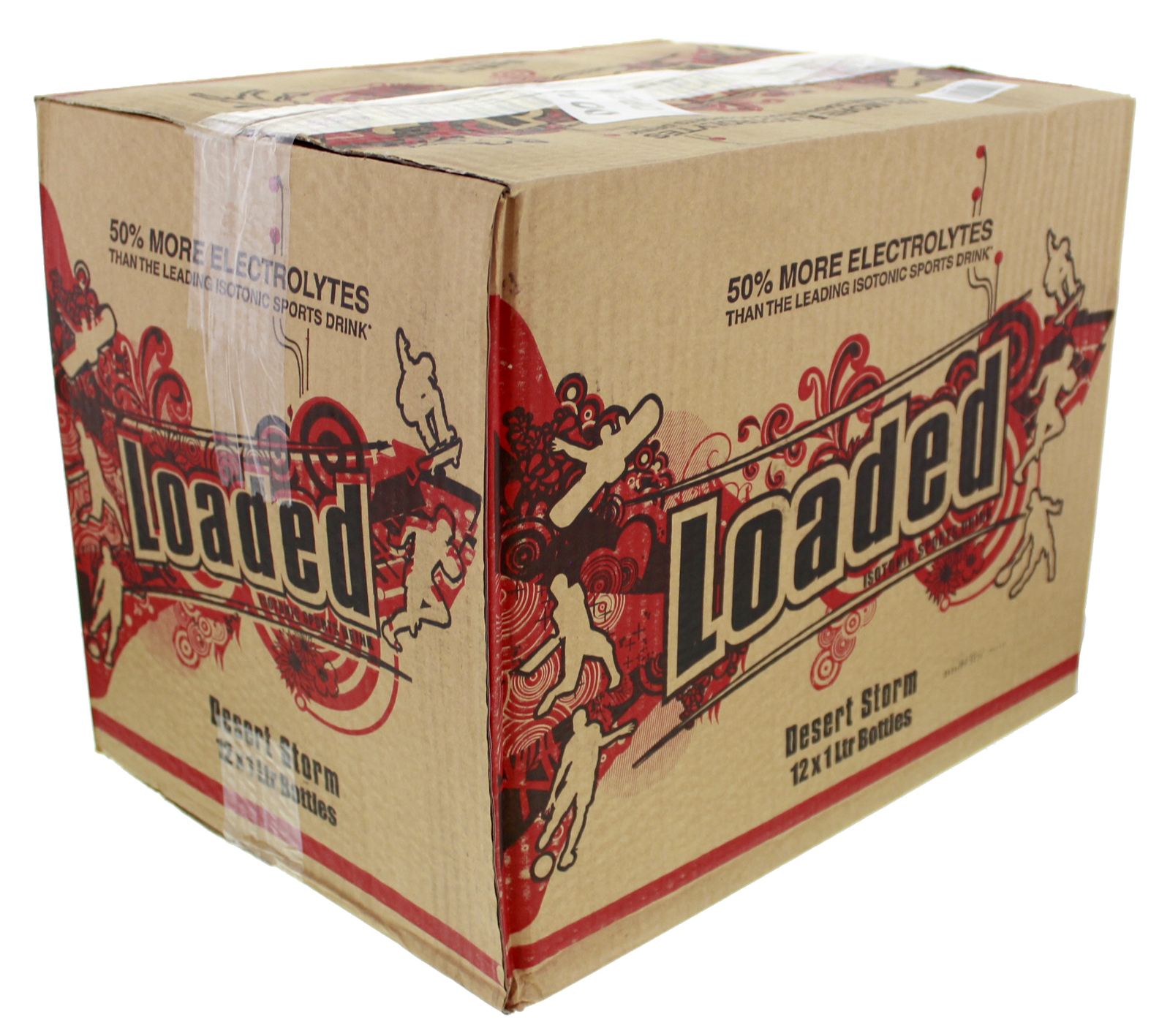 Loaded Sports Drink - Desert Storm 1L (12 Pack) image