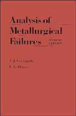 Analysis of Metallurgical Failures by Vito J. Colangelo image