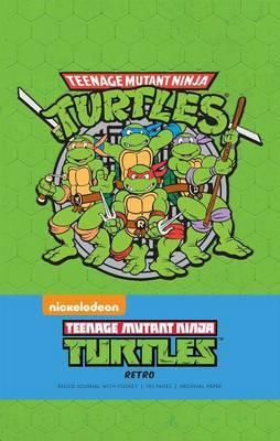 Teenage Mutant Ninja Turtles Retro Hardcover Ruled Journal by Insight Editions image