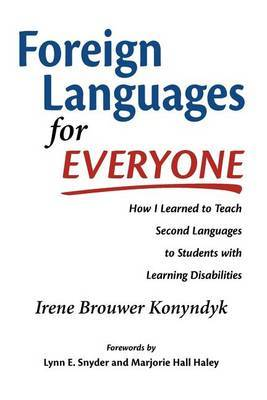 Foreign Languages for Everyone by Irene Brouwer Konyndyk image