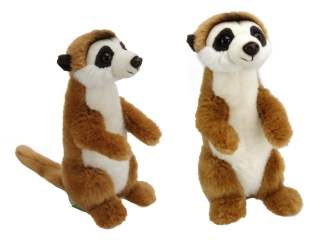 Antics Wildlife: Meerkat Plush (18 cm)