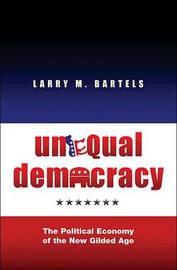 Unequal Democracy by Larry M Bartels image