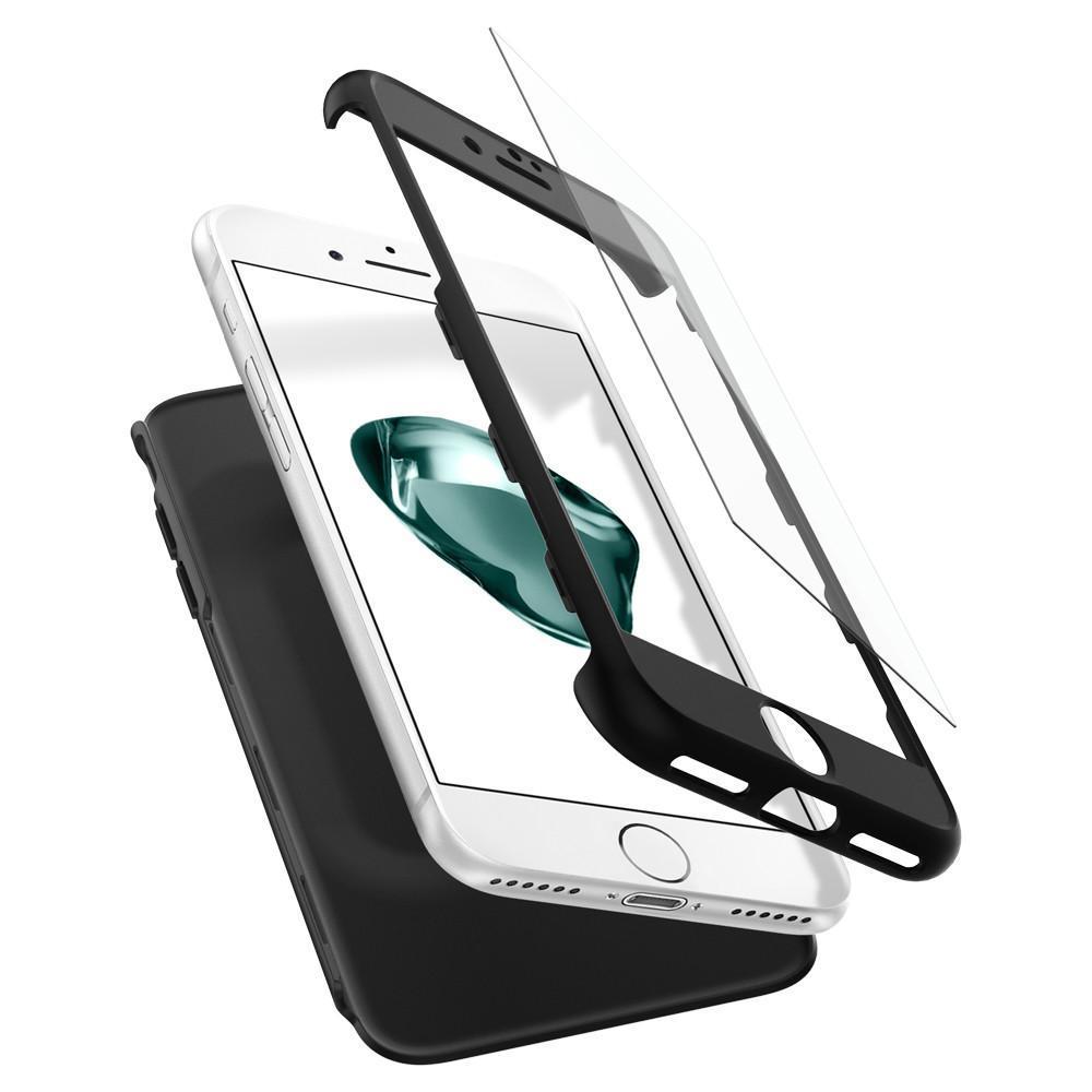 Spigen: iPhone 7 - ThinFit 360 Case (Black) image