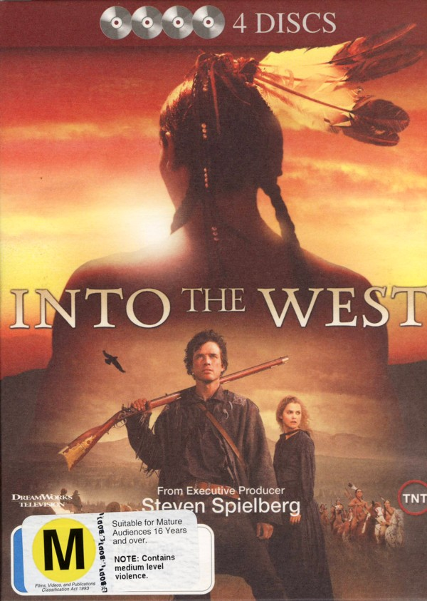 Into The West (4 Disc) on DVD image