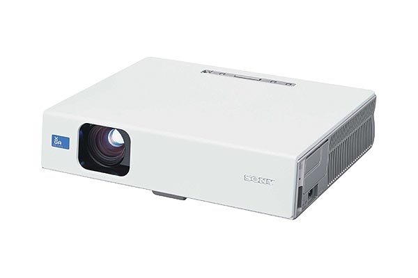 Sony Projector LCD 2500 Lumens Wireless XGA PLCX75 image