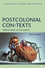 Post-colonial Con-texts by John Thieme image