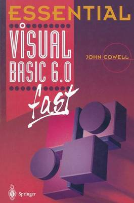 Essential Visual Basic 6.0 fast by John R. Cowell image