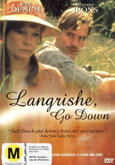 Langrishe, Go Down on DVD