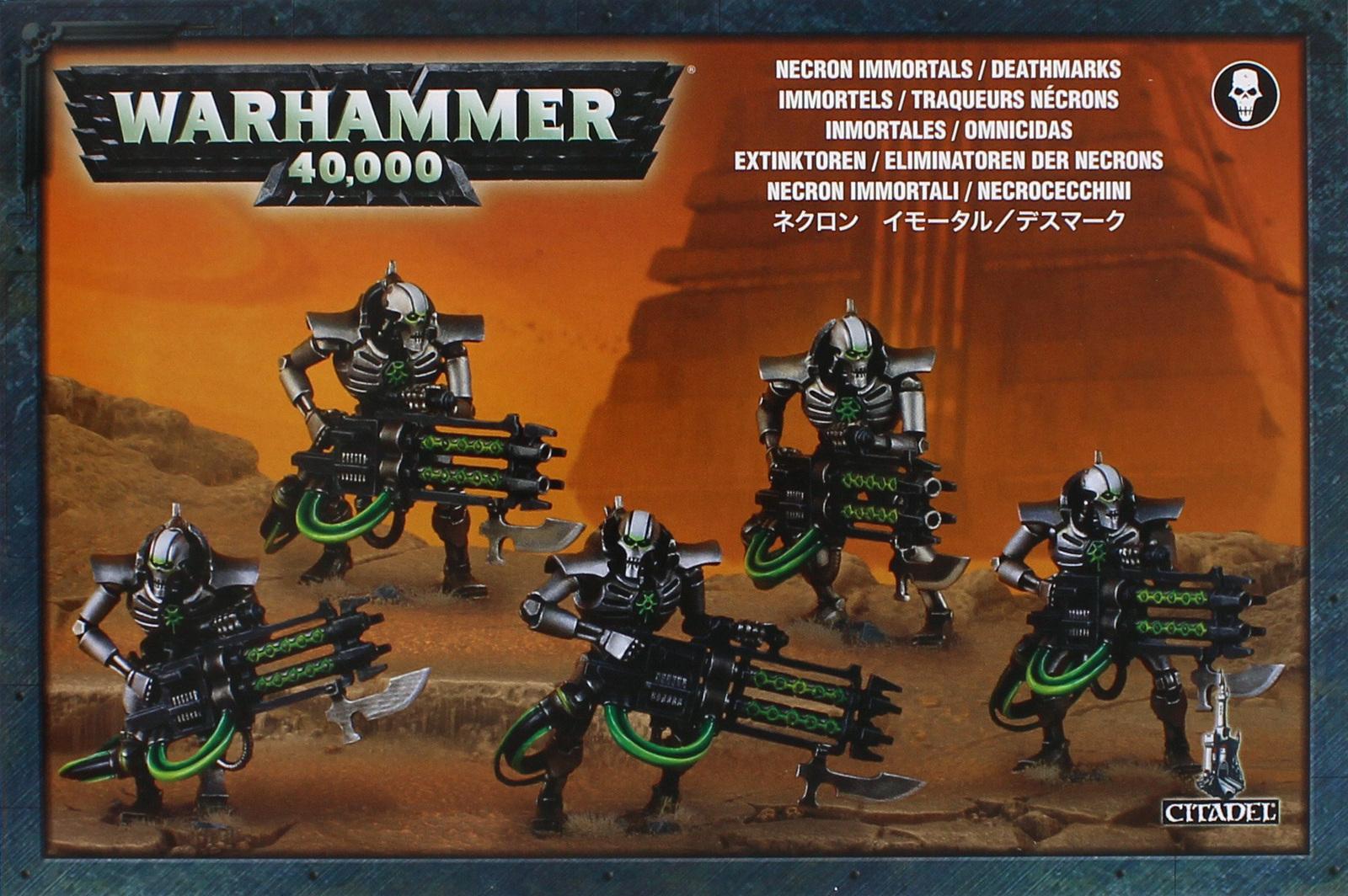 Warhammer 40,000 Necron Immortals / Deathmarks image
