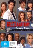 Grey's Anatomy - Season 3: Seriously Extended (7 Disc Set) on DVD