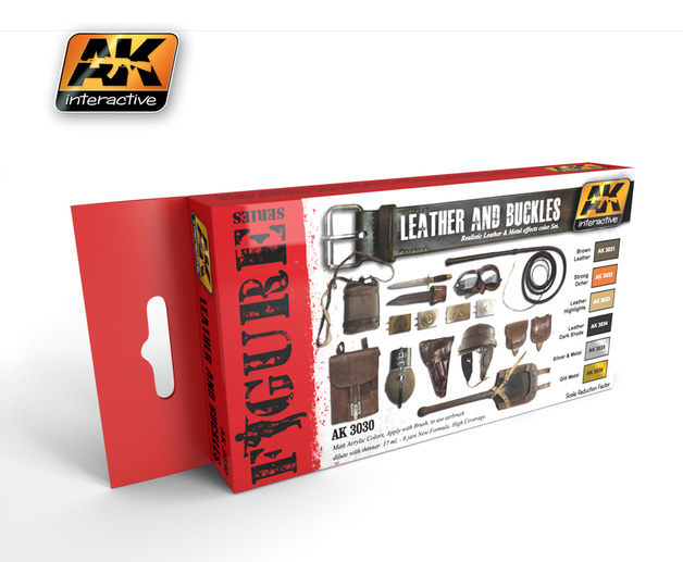 AK Leather & Buckles Paint Set
