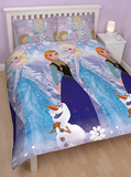 Disney Frozen Crystal King Single/Double Duvet Set
