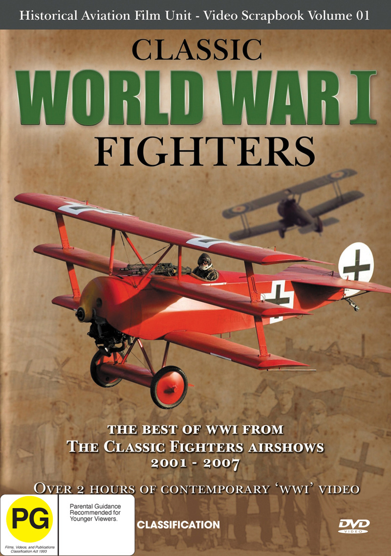 Classic World War One Fighters on DVD image