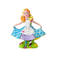 Romero Britto - Alice In Wonderland Mini Figurine