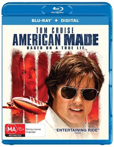 American Made on Blu-ray