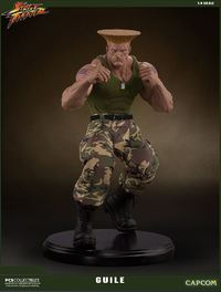 Streetfighter V - Guile 1:4 Scale Statue