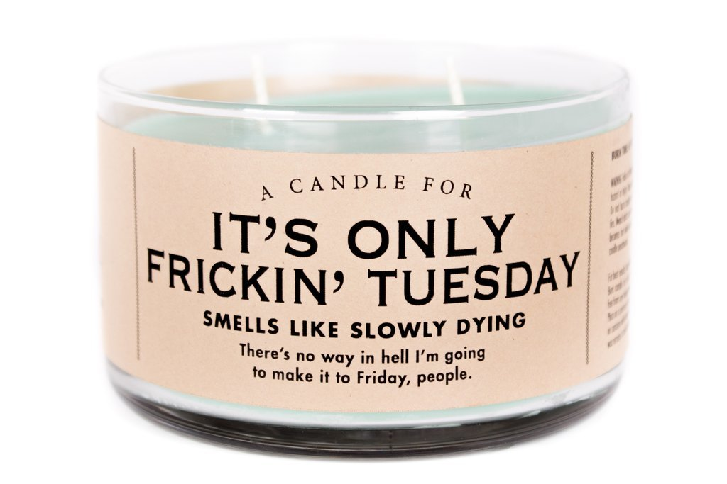 Whiskey River Co: A Candle For It's Only Frickin' Tuesday image
