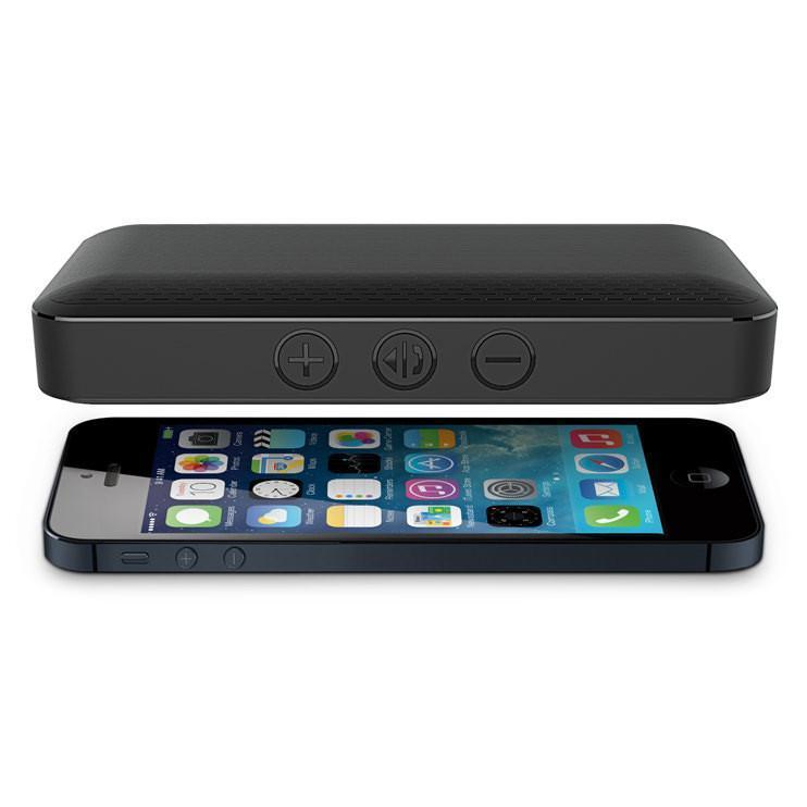 iLuv: Aud Mini - Ultra Slim Bluetooth Speaker (Black) image