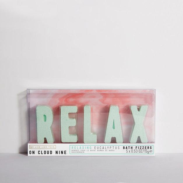 We Live Like This: On Cloud Nine Relax Bath Fizzer - Eucalyptus (15g)