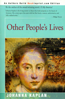 Other People's Lives by Johanna Kaplan image