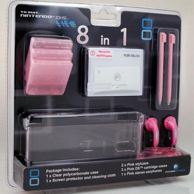 Futuretronics Lite 8 in 1 Pack for Nintendo DS