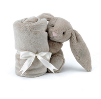 Bashful Beige Bunny Soother - by Jellycat