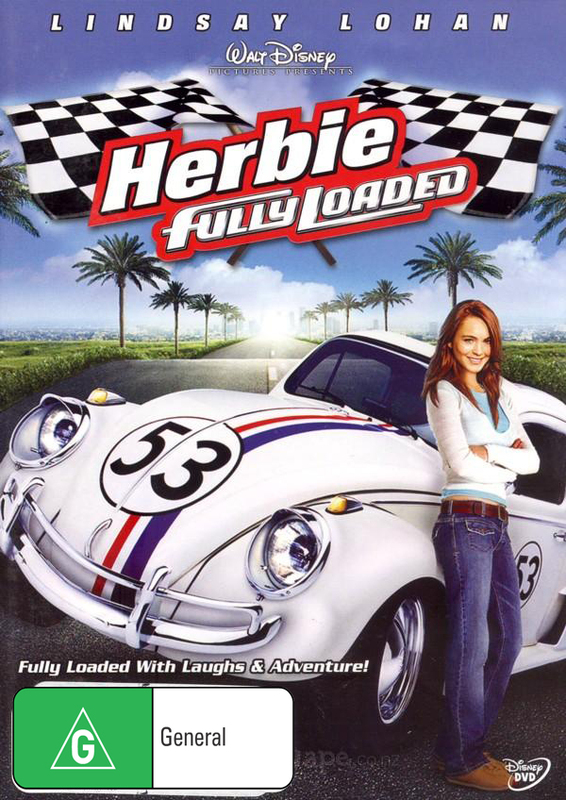 Herbie: Fully Loaded on DVD
