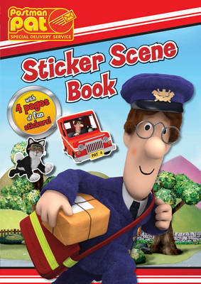 Postman Pat Sticker Scene