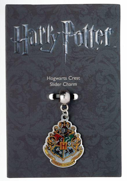 Harry Potter Charm - Hogwarts Crest (silver plated) image