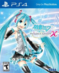 Hatsune Miku: Project DIVA X for PS4