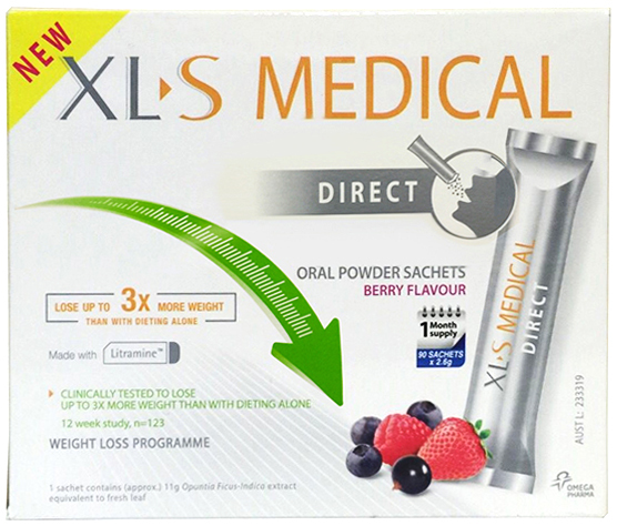 Buy Xl S Medical Fat Blocker 90 Sachets 2 6g Berry Flavour At
