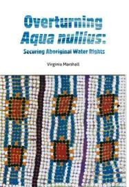 Overturning aqua nullius by Virginia Marshall