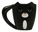 Thumbs Up: Black Cat Mug