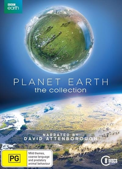 Planet Earth: The Collection on DVD image