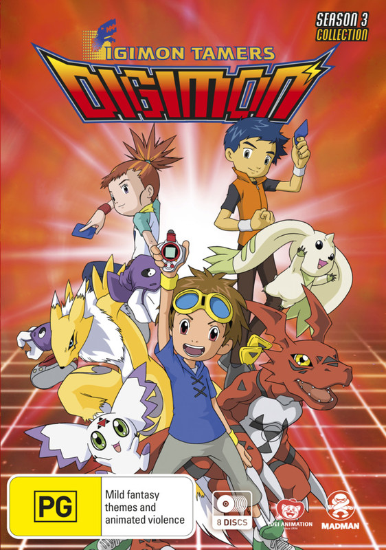 Digimon Tamers - Season 3 Collection on DVD