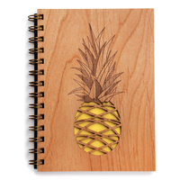 Cardtorial Wooden Journal - Pineapple