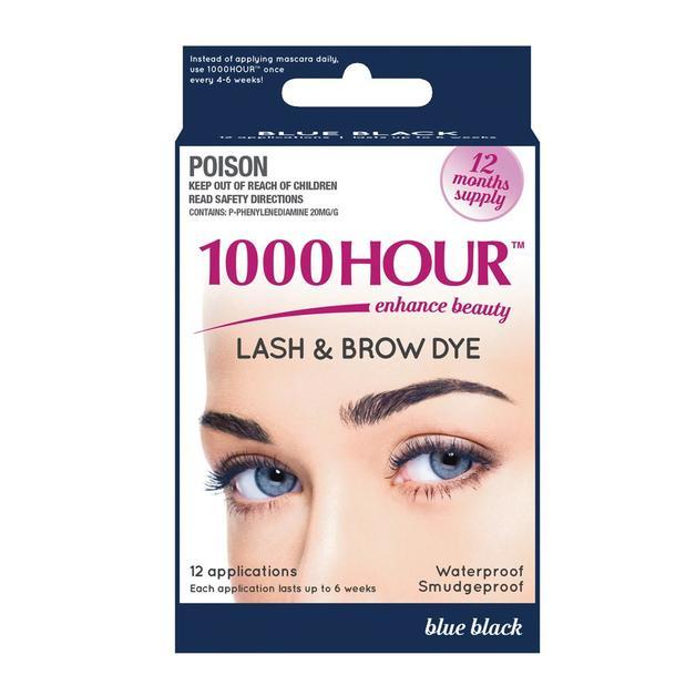 1000 Hour Eyelash Tint - Blue/Black