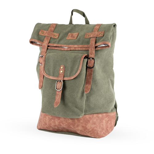 Foster & Rye: Insulated Canvas Cooler Backpack - Green