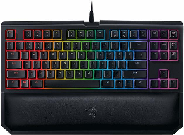 Razer BlackWidow Tournament Edition Chroma Gaming Keyboard V2 - Orange Switches for PC