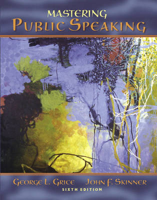 Mastering Public Speaking by George L. Grice image
