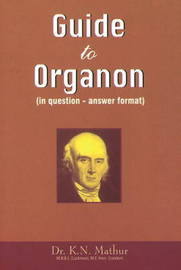 Guide to Organon by K.N. Mathur image