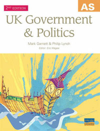 AS UK Government and Politics by Mark Garnett image